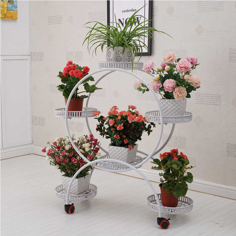 Indoor Plant stand  flower stand  shelf  standing flower shelf plantas plant rack decoration  flower rack balcony outdoor decor