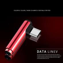 Универсальный Тип c до 3,5 мм адаптер с аудиоразъемом адаптер для подключения наушников Тип-C с разъемом подачи внешнего сигнала AUX разветвитель для xiaomi 6 Letv/2,2 pro/max2/pro3