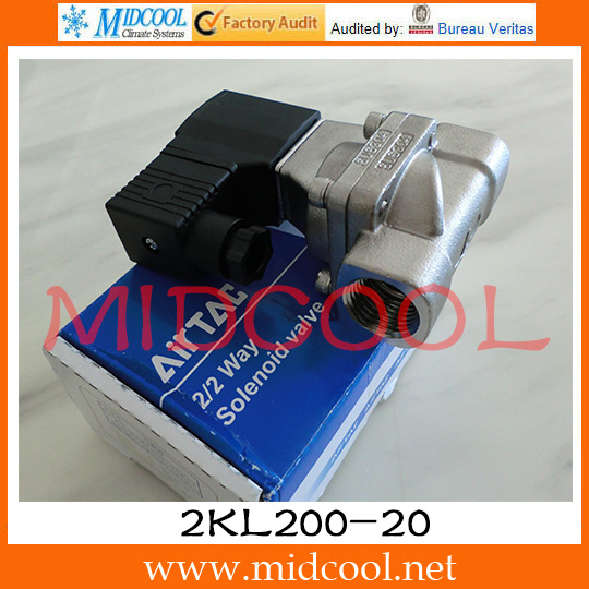 ФОТО Original AirTAC Fluid control valve 2KL Series(Internally piloted and normally opened) 2KL200-20