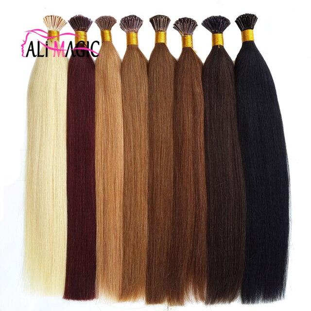 I Tip Hair Extensions 7a High Quality Keratin Hair 100strands 50g