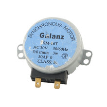 SM-16T AC 30V 3W 6RPM Synchronous Motor for Microwave Oven