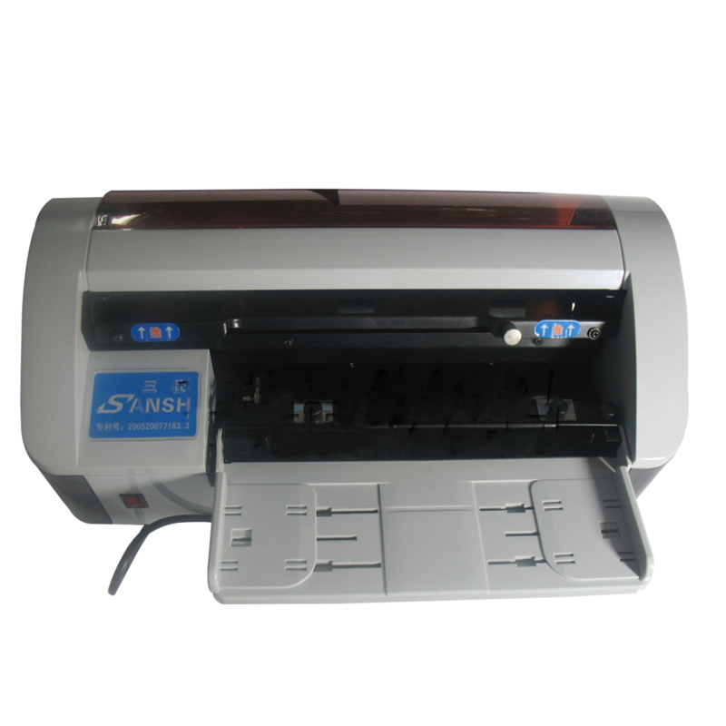 A4 SIZE Electric Business Card Cutting machine automatic paper cutting machine Anti cut oblique self grinding