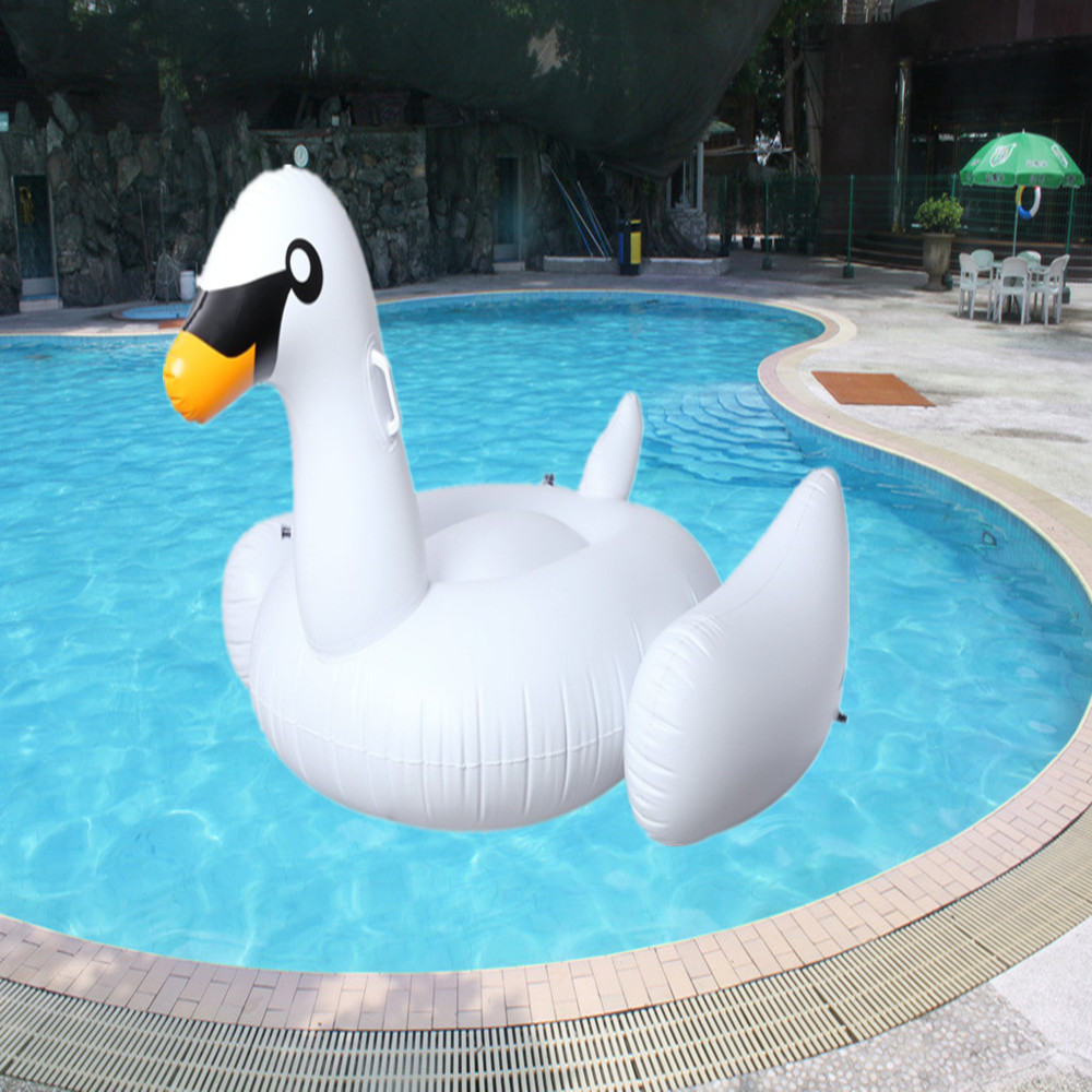 60 Inch 1 5m Giant Swan Inflatable Flamingo Ride On Pool