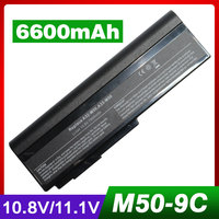 7800mAh Laptop Battery For Asus G51J G51JX G51V G51VX M50 M50Q M50S M50SA M50SR M50SV