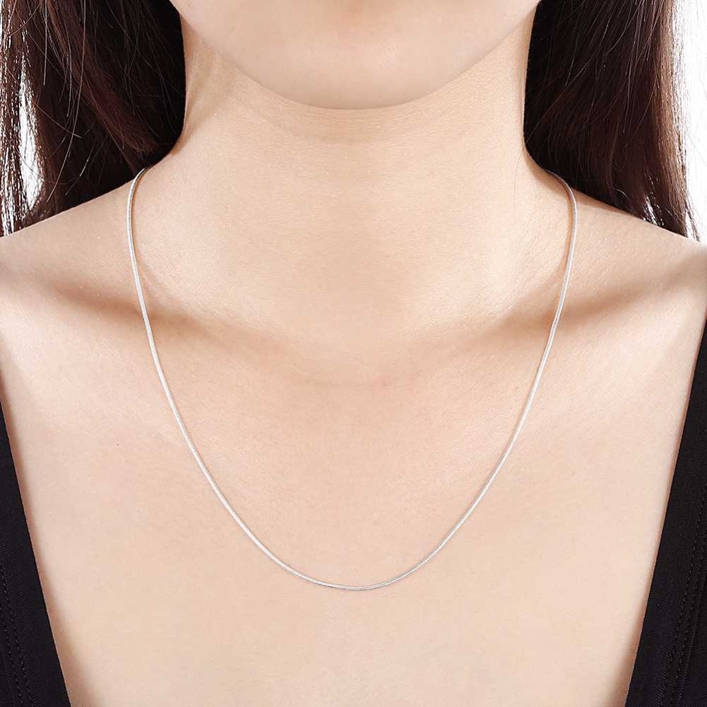 GCC14 for women new style silver necklace beautiful all-match for lover gift have different colors chooseGCC14 for women new style silver necklace beautiful all-match for lover gift have different colors choose