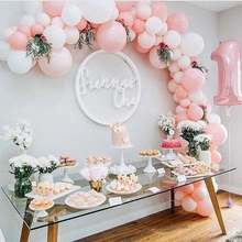 Rose Garland party Arch