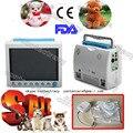 CE ICU CCU veterinaria/animali/Pet monitor paziente, 6-Parametri,EtCO2 8000-vet