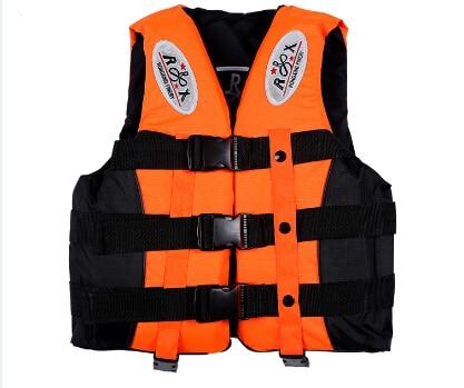 Спасательный жилет для активного отдыха Профессиональный купальный костюм для плавания рыбалка воды спортивная жизнь жилеты для Adut и детей 4 цвета 6 Размер - Цвет: Оранжевый