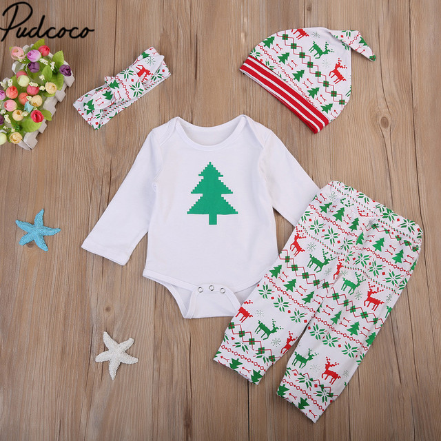05525b155 0 to 18 Months Toddler Christmas Tree New Born Infant Baby Boy Girl ...