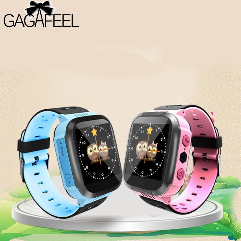 лучшая цена GPS Smart Watch Baby Watch With Camera for Android Phone Smart kids Watch Track Children Smart Electronic pk