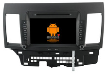 S160 Quad Core Android 4.4.4 car audio FOR MITSUBISHI LANCER(2007-2012) car dvd  player head device car multimedia car stereo