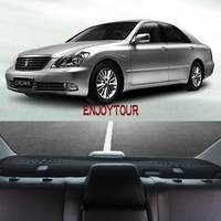car-styling accessories rear back windows dashboard cover for toyota crown s180 2003 2004 2005 2006 2007 2008