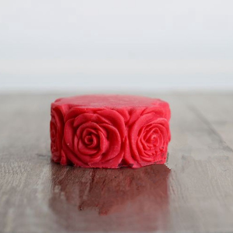 Rose Flower Silicone Candle Mold Soap Molds 3D Handmade Craft Fondant Chocolate Jelly Candy Gumpaste Form For Candle Making