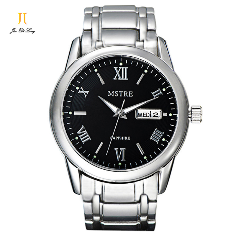 Brand Classic Fashion Casual Business Watch Men s Auto Self wind Wrist Watches Sapphire Flywheel Date