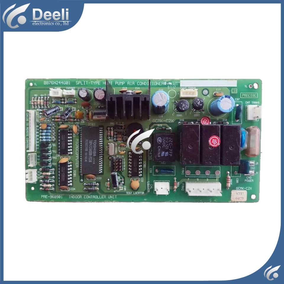 цена на used good working for air conditioning computer board BB76N244G01 BB00N243B control board