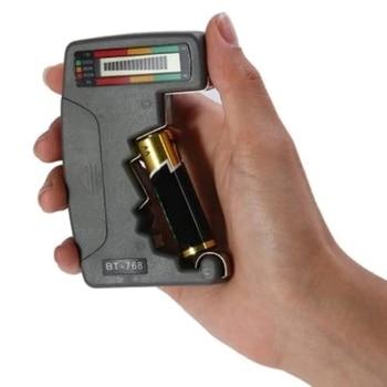BT168 мультиметр Цифровой батарея тестер батарея ёмкость индикатор 12 В в батарея тестер Напряжение метр инструменты электроники тестировани...