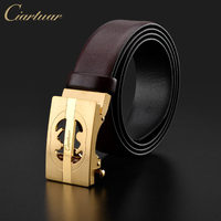 Ciartuar Original Brand Designer Cow Leather Belt High Quality Men Genuine Leather Trousers First Layer Ciartuar