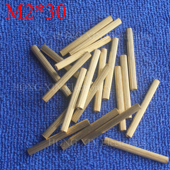M2*30 1Pcs Brass Spacer Standoff 30mm Female To Female Standoffs column cylindrical High Quality 1 piece sale image