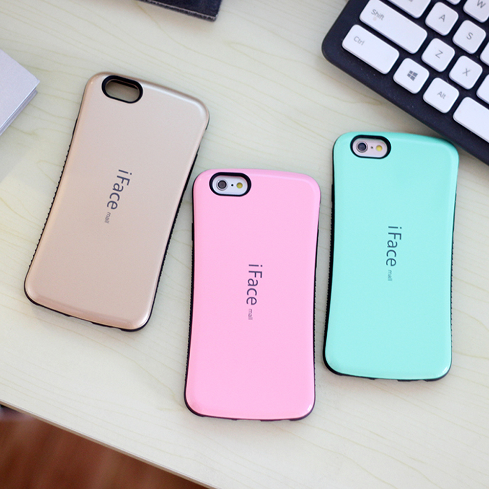 8492dc793bc081 Sinbeda iFace mall For iphone 4S 5G 5S 5C Cases TPU+PC Shockproof Hybrid  Hard Case Silicone Back Cover For iphone 4g 5g 5c Case-in Fitted Cases from  ...