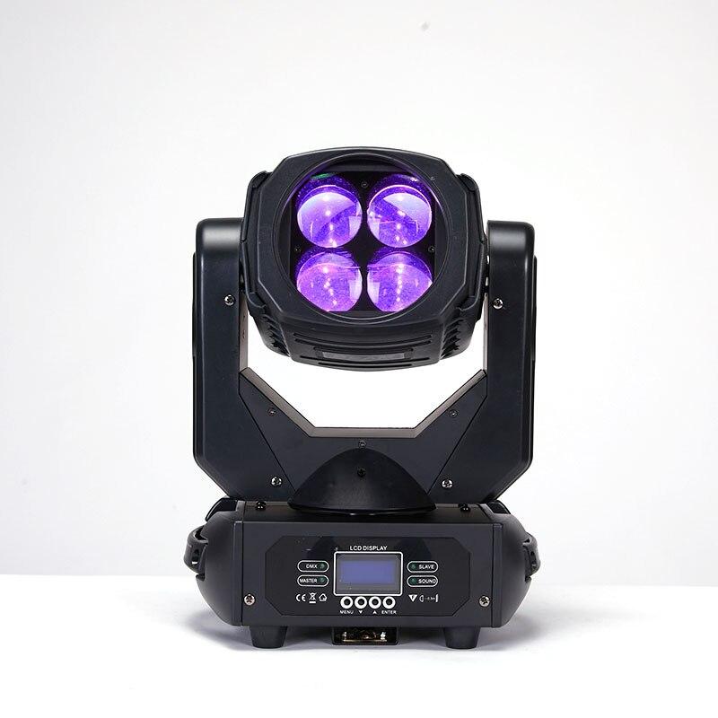 YA Yao LED 4x30W superhaz cabeza móvil luz LED efecto perfecto luz para DJ discoteca fiesta Clubs iluminación cabeza móvil - 3