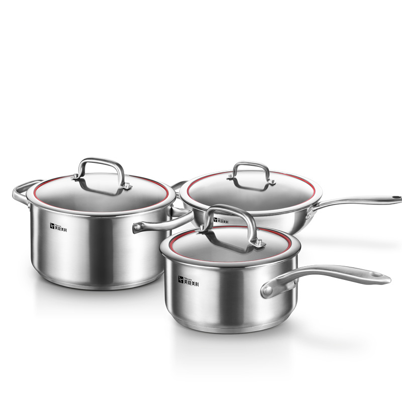Superior Millenarie Cookware Warm Series SUS304 Stainless Steel Kitchen Cooking Pots  And Pans 3pc Cookware Set In Cookware Sets From Home U0026 Garden On  Aliexpress.com ...