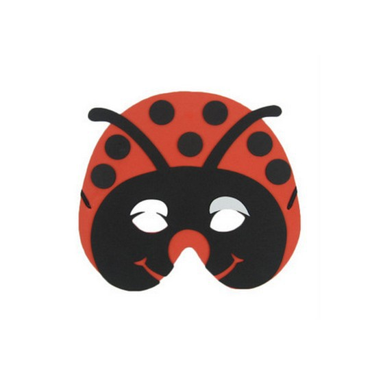 ②kids Jungle Animal ᗑ Mask Mask Beetle Foam Eva Fancy