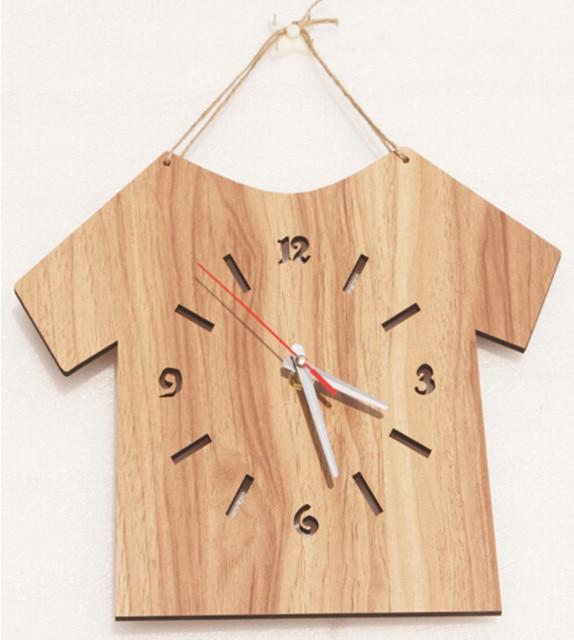 New simple type wooden wall clocks modern design home decor clock ...