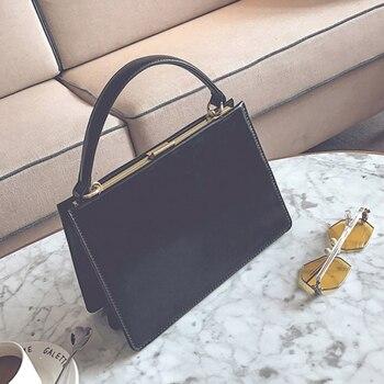 TOYOOSKY torebki damskie Vintage skórzana torba torebki damskie znane marki klip ShoulderBag nowy przyjeżdża panie Crossbody Flap