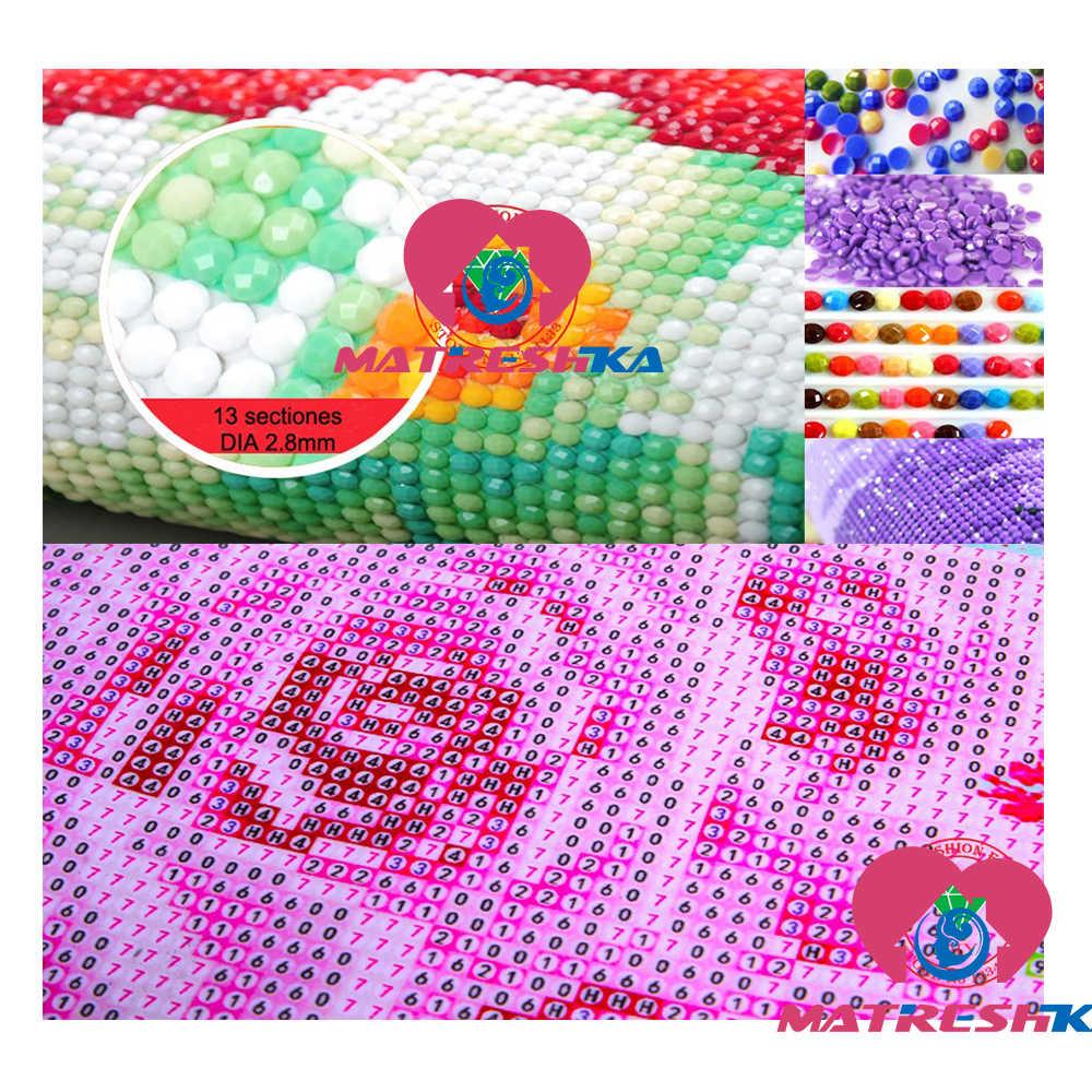 """Pełna plac/okrągły 5D DIY diament malarstwo """"cartoon miś"""" 5d wiertła akcesoria do haftu krzyż zestaw do szycia mozaika do dekoracji prezent"""
