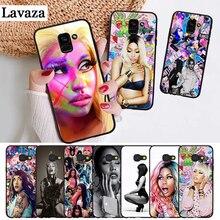 Lavaza Nicki Minaj Luxury Silicone Case for Samsung A3 A5 A6 Plus A7 A8 A9 A10 A30 A40 A50 A70 J6 A10S A30S A50S