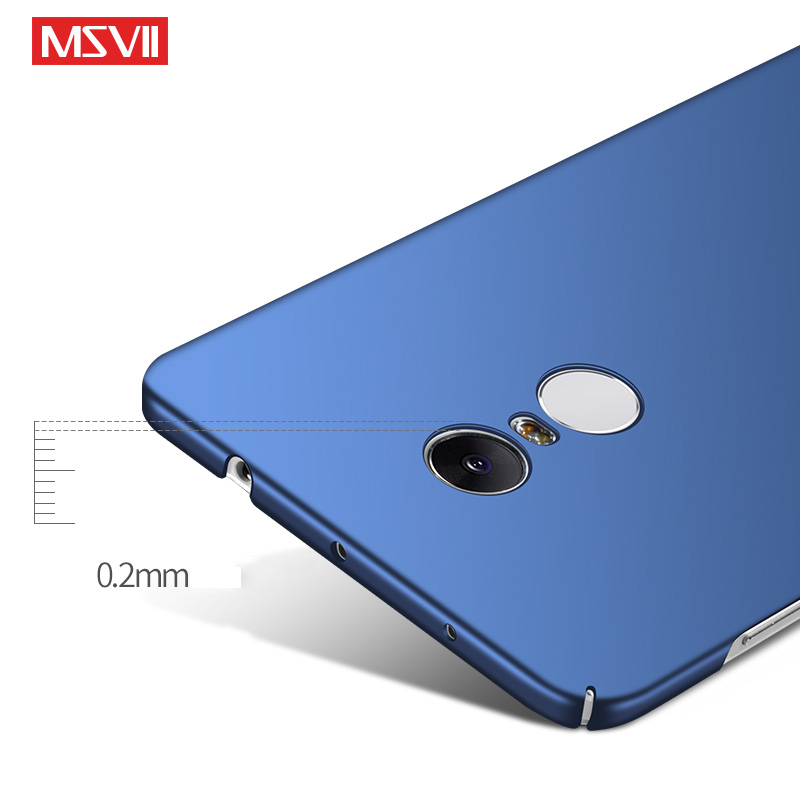 best website c1bbe c9f95 For Xiaomi Redmi Note 4X Case Luxury Frosted Hard Plastic Back Cover Case  For Xiaomi Redmi Note 4 Global Note 4X Pro Case