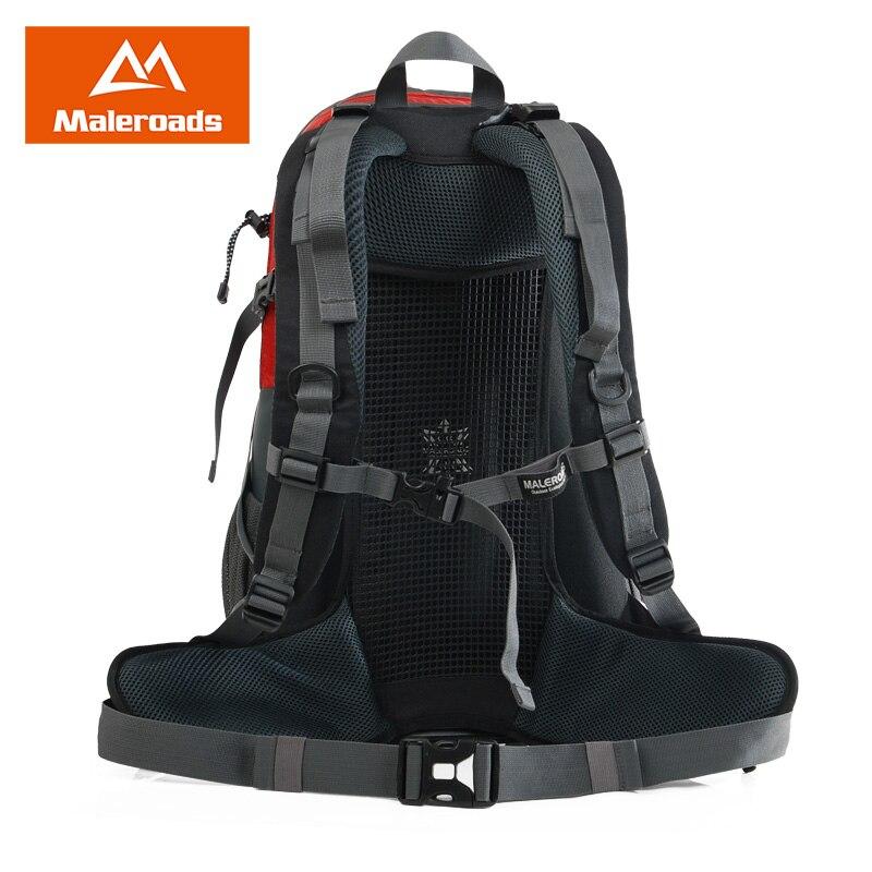 Maleroads sac à dos d'escalade camping imperméable randonnée voyage pack plein air sport sac à dos pour femmes et hommes 40L - 2