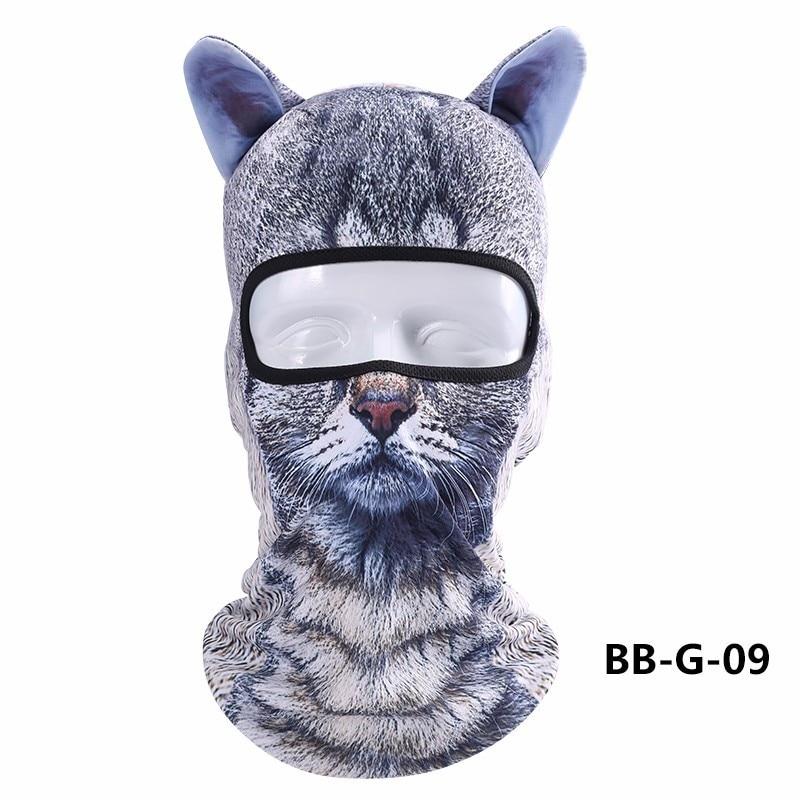 2017 Outdoor sport Winter Ski Mask Balaclava  beanie Women Hat 3D Animal Masks Outdoor Sunscreen Headgear Windbreak Cycling Cap