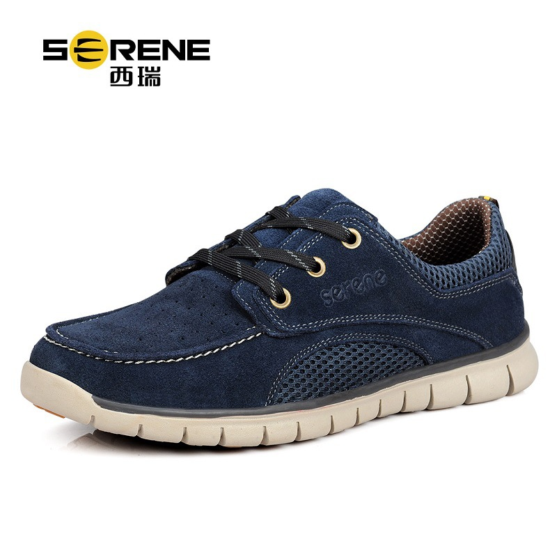 Serene Brand Casual Shoes Men Luxury Lace-up Men's Shoes Breathable Mens Shoes Large Sizes 2018 New Summer Shoes Zapatos Hombre cimim brand new hot sale men flats shoes fashion mens shoes casual comfortable mens shoes large sizes 38 48 superstar zapatos