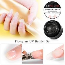 T-TIAO CLUB 8ml Fiber Nail Gel Fiberglass Extension Building UV Varnish Repair Broken Nails Soak Off Extend Tip