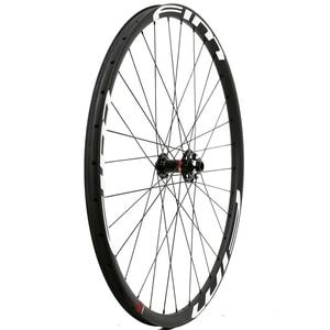 Image 2 - Bicicleta de Montaña de carbono XC/Trail wheels, con cubierta de eje pasante, sin tubo, 27mm de ancho