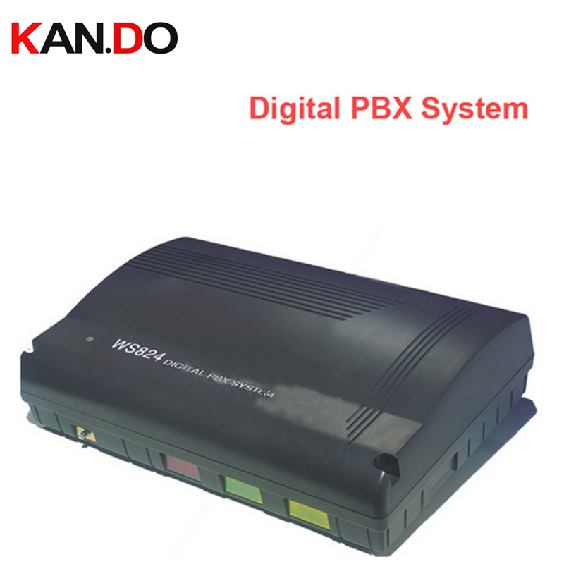 WS824 Digital PBX System telephone recorder box telephone switch ok max. 64 extension lines & 8 outer lines telephone switch box