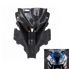 Мотоцикл для bmw s1000rr Передняя голова нос клобук воздухозаборника углеродного волокна цвет обтекателя оболочки для S1000RR