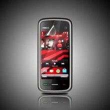 Восстановленное Оригинал 5233 разблокирована Nokia 5233 мобильного телефона Черный и белый цвета для вас выбирают Восстановленное
