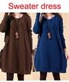 Женщины синий свитер осень зима свитера для беременных одежда для беременных беременность кофты camisola роковой тянуть
