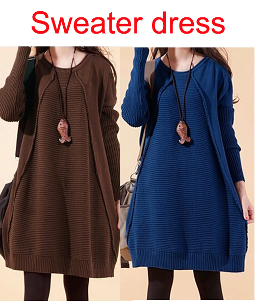 Women pullover Blue sweater Autumn winter sweaters for pregnant maternity clothes Pregnancy sweatshirts camisola  femme pull