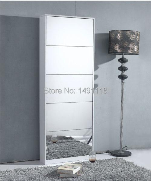 Schoenenrek Met Spiegel.Living Room Furniture Shoe Cabinet Shoe Rack Decorative Mirror Home