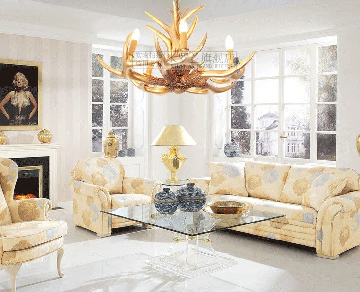 light chandelier Picture - More Detailed Picture about Antler ...