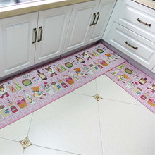 pink kitchen rug banquettes buy decorative rugs and get free shipping on aliexpress com 4 different sizes lovely bear home decoration carpet the floor door mat