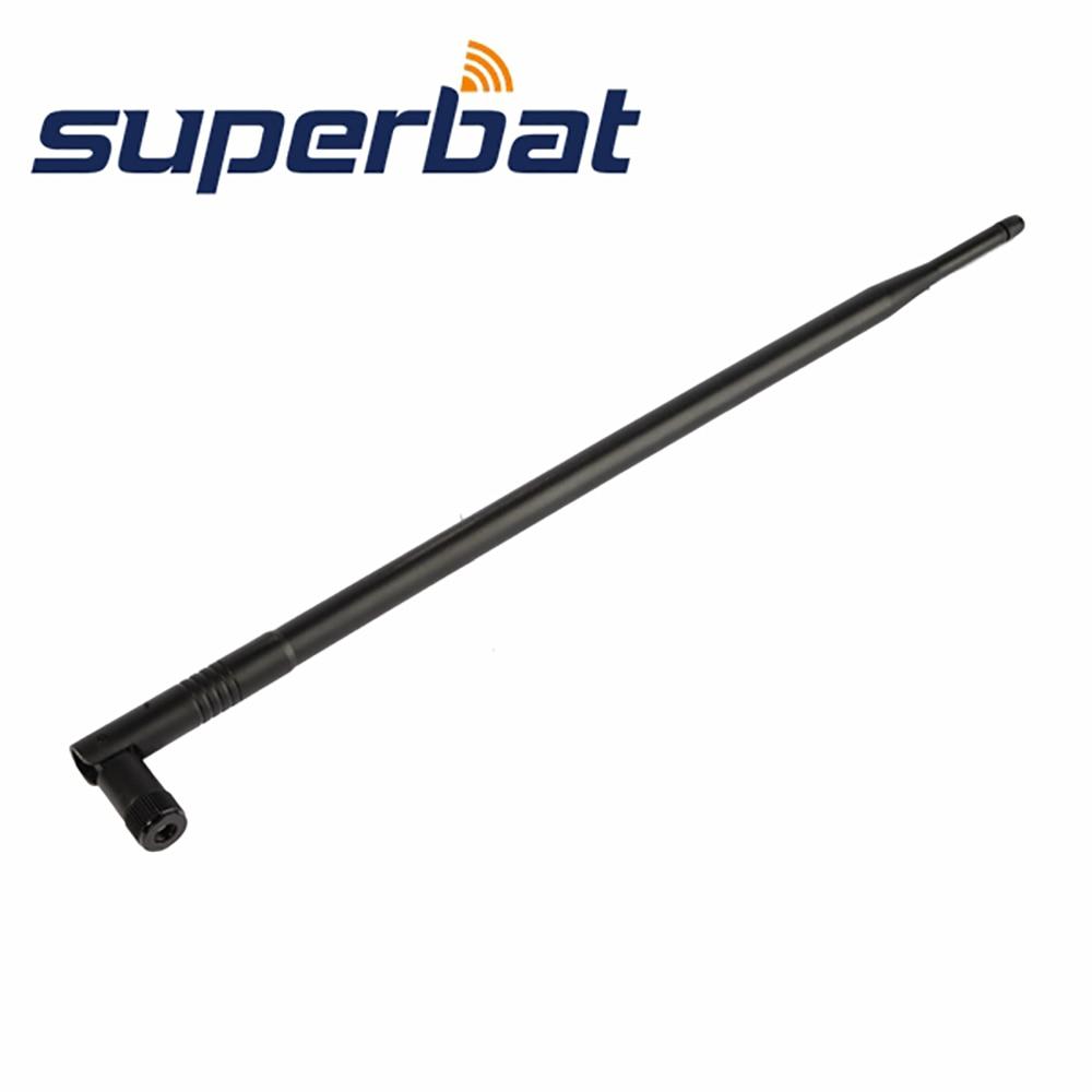 Superbat 3 шт WiFi антенна 2,4 GHz 12dBi Всенаправленная резиновая утка антенна усилитель RP-SMA для IEEE 802.11b беспроводной LAN
