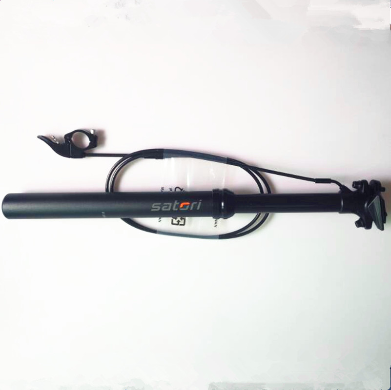 Тайвань горный велосипед Подседельный штырь провод контакт переключатель дистанционного регулировки подседельный 30.9/31.6x440 мм