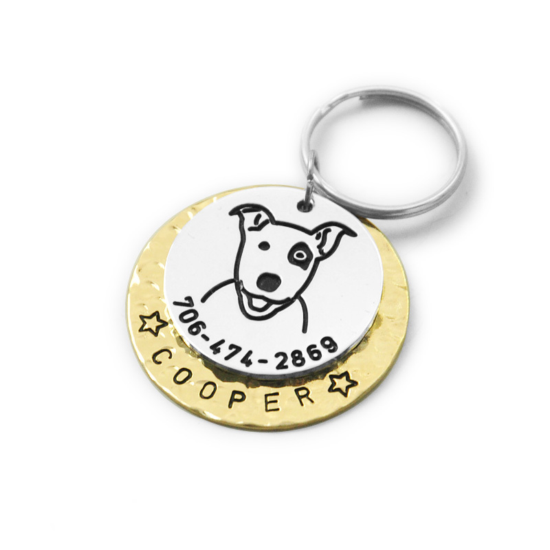 Custom Engraved Jewelry Tags Wholesale
