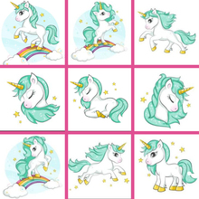 5d Diamond Painting Diy unicorn Embroidery Cartoon pony rainbow childs Mosaic Sale Full Square Drill by number FDJA