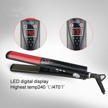 LCD Display Hair Straightener Floating Ceramic Plate MCH Fast heating Straightening Irons Styling Tools