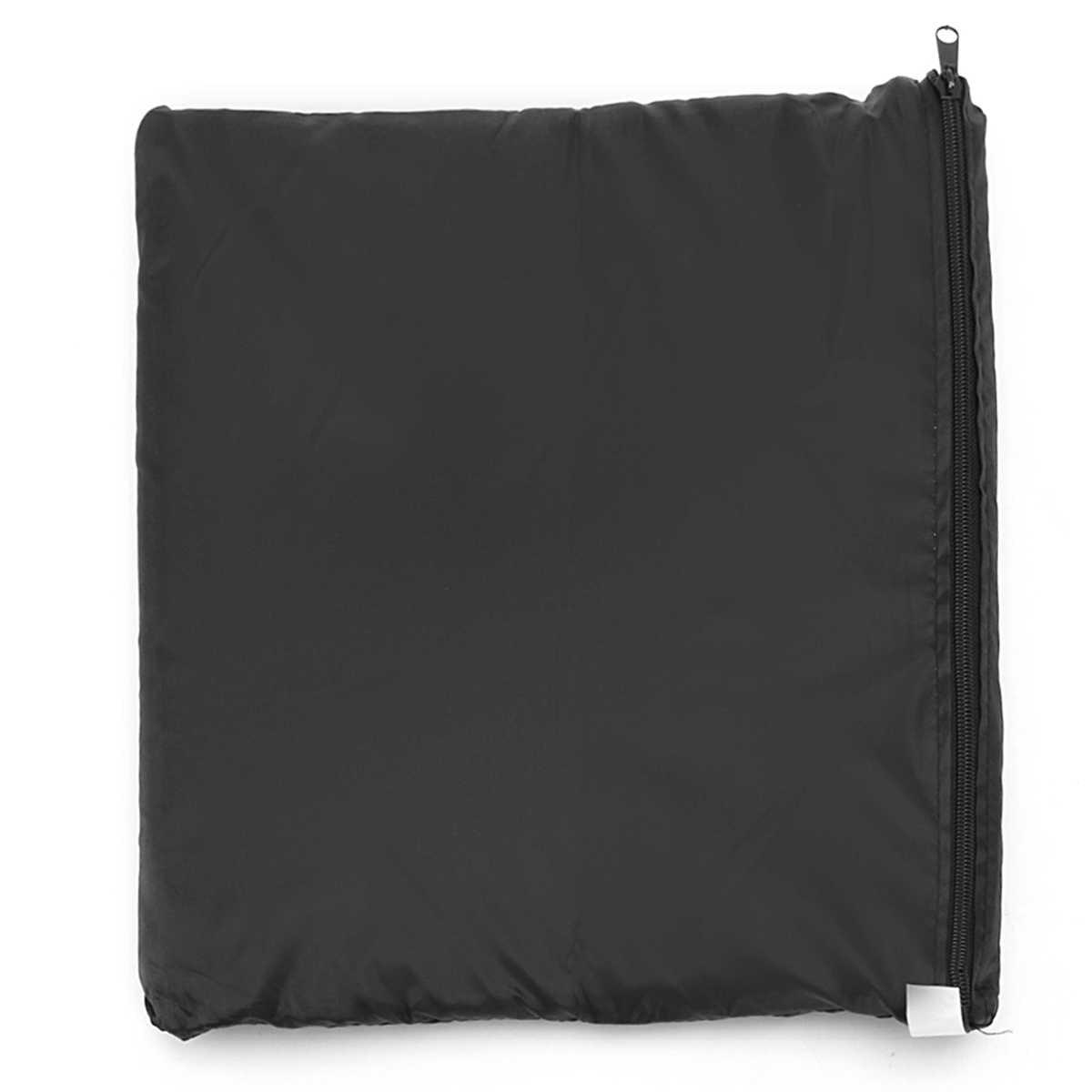Водонепроницаемый патио мебель дождевик Водонепроницаемый плетеные диван защиты черный чехол для стол стул housse де Фаэтон